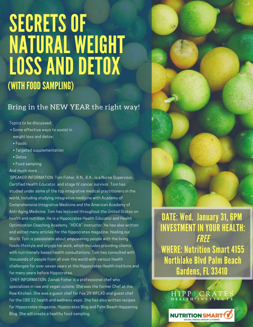 Secrets of Natural Weight Loss & Detox - Nutritionsmart